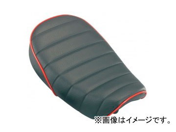 2輪 キタコ TLシート-タイプ3 タックロール/レッドパイピング 610-1083410 JAN:4990852076352 ホンダ モンキー FNO,AB27-1400001~1899999