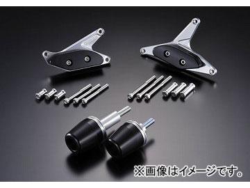 2輪 アグラス リアスライダー 4点セット A 品番:P052-3184 ブラック カワサキ ZX-10R 2010年 JAN:4548664830251