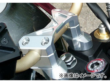 2輪 アグラス ハンドルアッパーブラケットSET 品番:P039-2794 シルバー カワサキ ZRX1200 ダエグ JAN:4548664002641