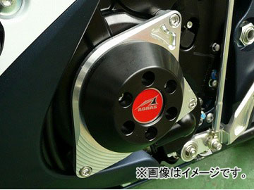 2輪 アグラス リアスライダー ケースカバー3点セット 品番:P048-0725 ホワイト スズキ GSX-R600 2011年~2012年 JAN:4548664567720