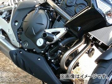 2輪 アグラス リアスライダー フレーム 品番:P044-1133 ホワイト カワサキ ER-4n JAN:4548664269419