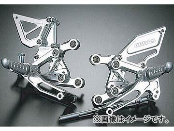 2輪 アグラス バックステップ 6P 品番:P013-2174 カワサキ ZX-6R/RR ~2005年 JAN:4547424488541
