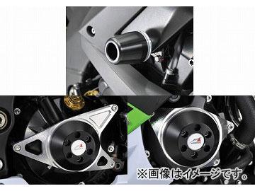 2輪 アグラス リアスライダー 4点セット 品番:P043-9131 ブラック カワサキ ZX-10R 2010年 JAN:4548664255559