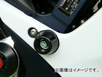 2輪 アグラス リアスライダー フレーム 品番:P047-8490 ホワイト スズキ GSX-R750 2011年~2012年 JAN:4548664550937