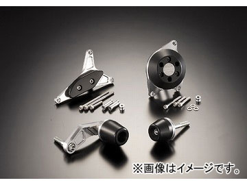 2輪 アグラス リアスライダー 4点セット 品番:P052-3280 ホワイト スズキ GSX-R600 2006年~2007年 JAN:4548664831197
