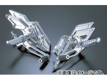 2輪 アグラス バックステップ 4ポジション 品番:P003-4452 カワサキ ZZR1100 C型 JAN:4520616688998