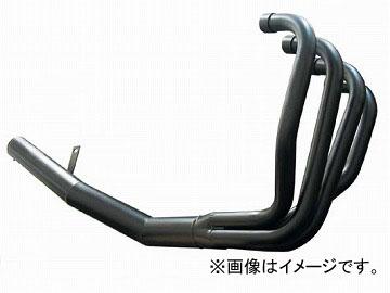 2輪 アルキャンハンズ マフラー ワンピース スチール 品番:A00016C メッキ カワサキ ZRX400 ~1997年 JAN:4571185818255