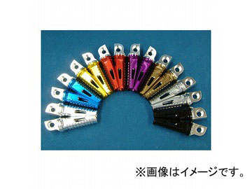 2輪 デュラボルト SPタンデムステップペグ 品番:P044-9633 メタルグレー カワサキ ZR-7/GPZ750R/900R 他 入数:2本セット JAN:4542880036022