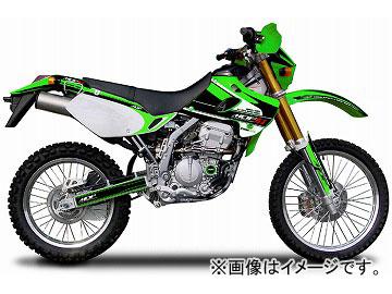 2輪 MDF アタッカーコンプリート 品番:P049-8887 グリーン カワサキ KLX250 ~2004年 JAN:4580394145403
