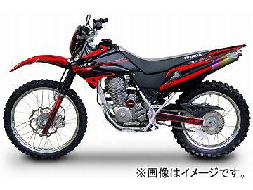 2輪 MDF アタッカーコンプリート P050-3834 レッド ホンダ XR230/MOTARD 2008年~ JAN:4580394147094