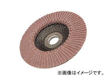 日立工機 テーパ式多羽根ディスク(穴式) アルミナ[A] 100mm 粒度:80 コードNo.0000-3501 入数:50枚