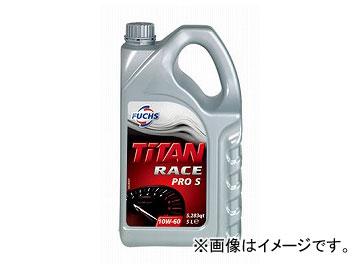 フックス エンジンオイル TITAN RACE PRO S SAE 10W-60 5L A600888053