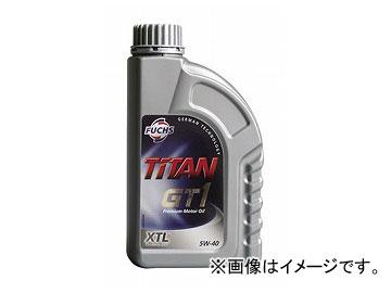 フックス エンジンオイル TITAN GT1 SAE 5W-40 XTL 205L A600756741