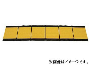 ユニット/UNIT 点字マット(折畳み式) 300角ライン 品番:391-221