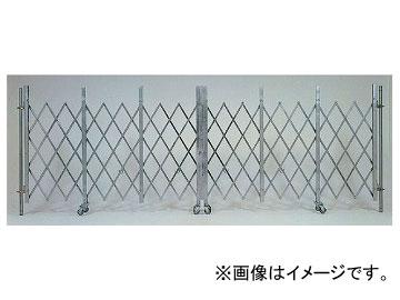 ユニット/UNIT ライトゲートクロス(仮設用ゲート) 両開き 2×7.2m 品番:391-331