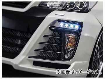 アドミレイション ベルタ LEDスポットKIT 4連 LED球色:ホワイト,ブルー トヨタ プリウス DAA-ZVW30 後期 2011年12月~