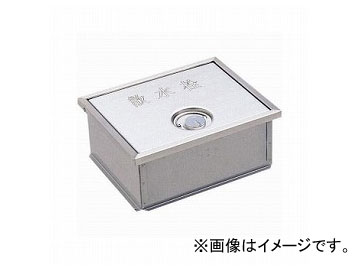 三栄水栓/SANEI カギ付散水栓ボックス(床面用) R81-6 JAN:4973987889127