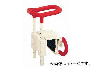 アロン化成 安寿 高さ調節付浴槽手すり UST-130 レッド 536-600 JAN:4970210436493