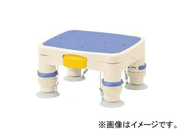 """アロン化成 安寿 高さ調節付浴槽台R """"かるぴったん"""" ミニ ブルー 536-483 JAN:4970210510902"""