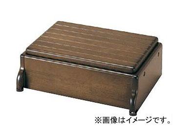 アロン化成 安寿 木製玄関台 S45W-30-1段 ブラウン 535-570 JAN:4970210397589