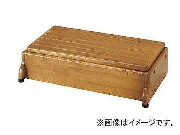 アロン化成 安寿 木製玄関台 S60W-30-1段 ライトブラウン 535-576 JAN:4970210397619