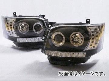 コーリン シャーク ヘッドライト III型用 ブラック TH20ACE-B-CFB-02 トヨタ ハイエース(LEDタイプ) III型以降 2012年05月~2013年11月