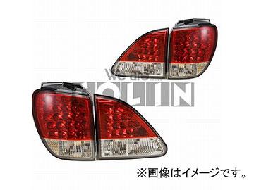 コーリン LED赤白クリスタル TT10HARE-1LB-RC-03 トヨタ ハリアー ##U10W/15W後期 2000年11月~2003年02月