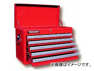 シグネット/SIGNET ツールチェスト 5段(ベアリングレール)(54343) 品番:SG525 JAN:4545301006697