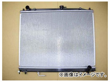国内優良メーカー ラジエーター 参考純正品番:MR404690 ミツビシ パジェロ