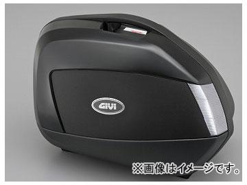 2輪 デイトナ GIVI サイドケース左右セット V35NT 未塗装ブラック/TECHスモークレンズ 品番:75617 JAN:4909449400173