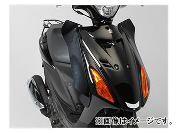 2輪 旭風防/AF-ASAHI サイドバイザー AD-12 スズキ アドレス V125S CF4MA JAN:4582126540302