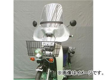 2輪 旭風防/AF-ASAHI ウインドシールド SC-03-P ホンダ スーパーカブ110 プロ EBJ-JA07 JAN:4560122611981