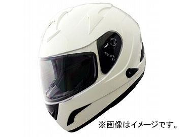 2輪 山城 FIORE CITY RACERヘルメット インナーバイザー付き ホワイト FH-002 サイズ:M,L