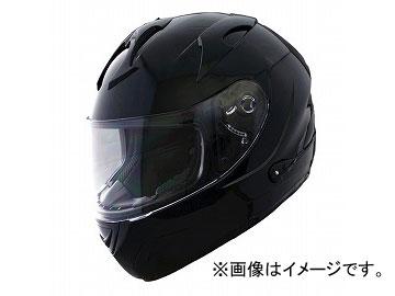 2輪 山城 FIORE CITY RACERヘルメット インナーバイザー付き ブラック FH-002 サイズ:M,L