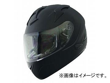 2輪 山城 FIORE CITY RACERヘルメット インナーバイザー付き マットブラック FH-002 サイズ:M,L