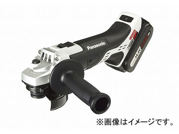 パナソニック/Panasonic 充電ディスクグラインダー100 14.4V 品番:EZ46A1LS2F-H グレー JAN:4549077304285