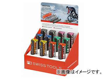 PB SWISS TOOLS バイクツールディスプレイセット(6色) 品番:470POSCOL JAN:7610733247516