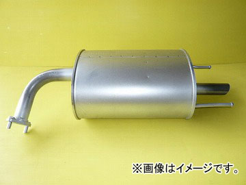 大栄テクノ リアマフラー MNS-2655 ニッサン AD VHNY11 1999年05月~2006年01月 JAN:4560144706559