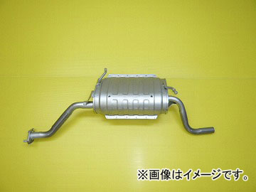 大栄テクノ リアマフラー MSS-9181SUS スズキ エブリー DA62V ターボを除く 車体NO,560001~/479510~ 2004年04月~2005年08月 JAN:4582146961200