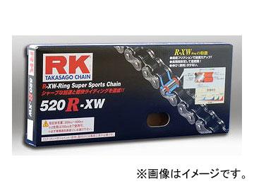 2輪 アールケー・エキセル/RK EXCEL シールチェーン STD 鉄色 520R-XW 100F