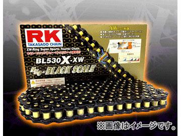 2輪 RK EXCEL シールチェーン BL ブラック BL520R-XW 112L F650GS F650GSダカール F650X カントリー チャレンジ モト