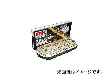 2輪 RK EXCEL レーシングチェーン スプリント/耐久レース兼用 GB レーシングゴールド GB520XW-R 112L ZX10R ZX6R ZX9R