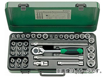 スタビレー/STAHLWILLE 1/2SQ ソケットレンチセット(98810909) 品番:876TX JAN:4018754085156