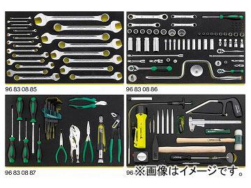 スタビレー/STAHLWILLE 航空機整備工具セット(インチ)(97830802) 品番:13214AWW JAN:4018754196388