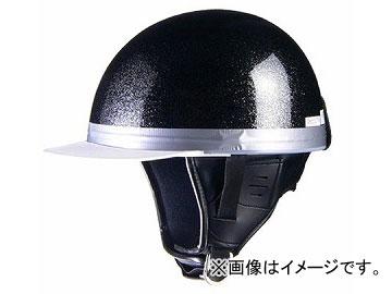 2輪 リード工業 HARVE コルクハーフヘルメット メタルブラック フリーサイズ(57~60cm未満) HS-501
