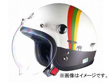 2輪 リード工業 Street Alice スモールロージェットヘルメット アフリカ レディースフリーサイズ(55~57cm未満) QP-2