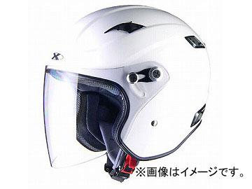 2輪 リード工業 X-AIR RAZZO III エクストリームジェットヘルメット ホワイト 選べる3サイズ