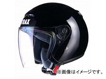 2輪 リード工業 STRAX ジェットヘルメット ブラック BIG(63~64cm未満) SJ-4