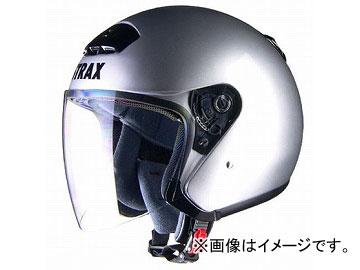 2輪 リード工業 STRAX ジェットヘルメット シルバー BIG(63~64cm未満) SJ-4