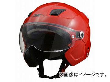 2輪 リード工業 X-AIR システムセミジェットヘルメット レッド フリーサイズ(57~60cm未満) SOLDAD